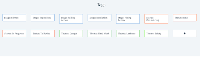 manage all of your tags in one place