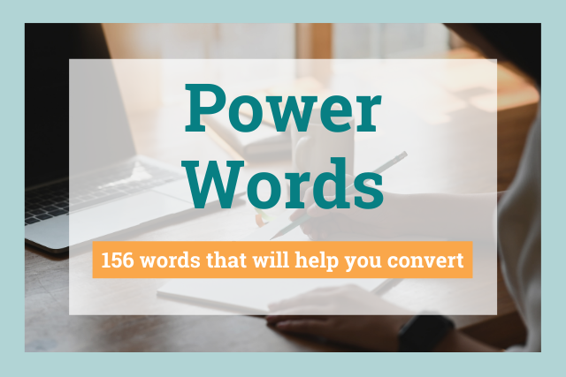How to Increase Conversions and Sales with these Power Words