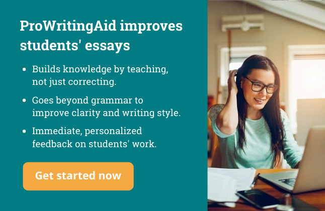 ProWritingAid for Teachers