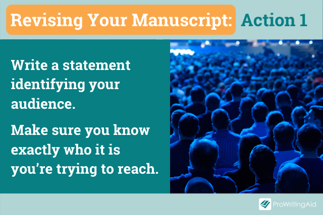 Action 1, know your audience
