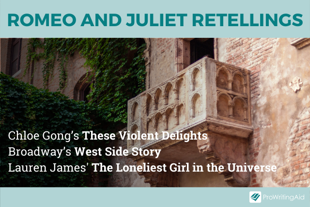 Examples of Romeo and Juliet rewrites