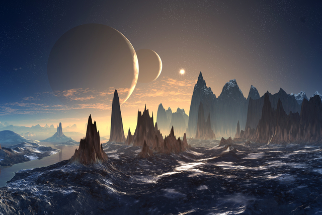 world-building inspiration: space world