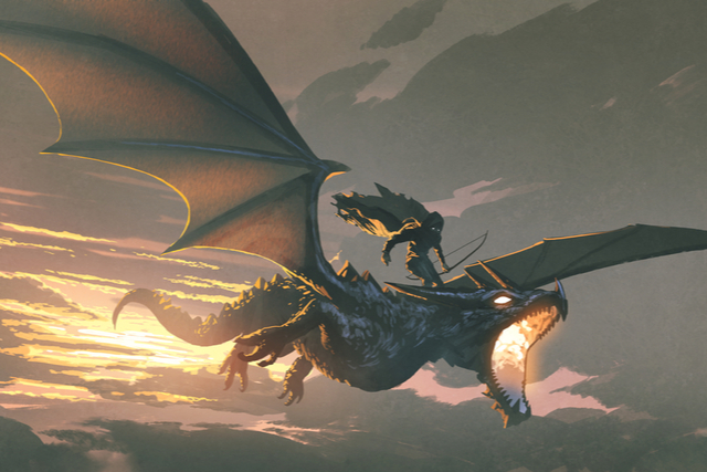 Dragon worldbuilding
