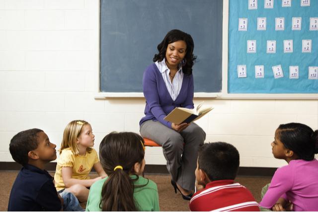 TeacherInFrontOfClass