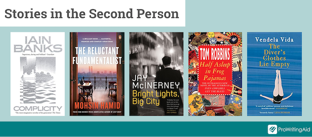 covers of books written in the second person