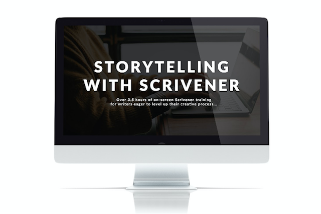 storytelling with scrivener e-course