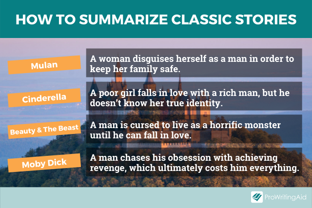Summaries of classic stories