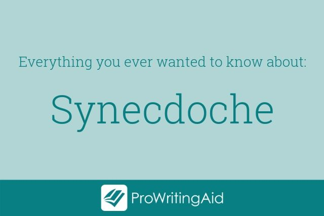 definition of synecdoche