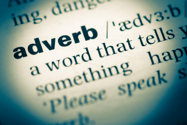 When to use adverbs