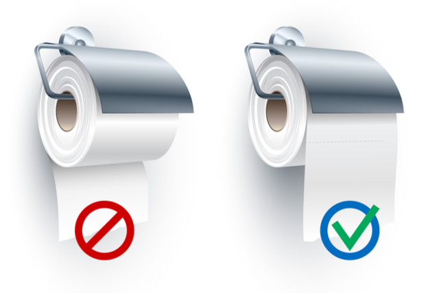 Topics must pass the toilet paper test