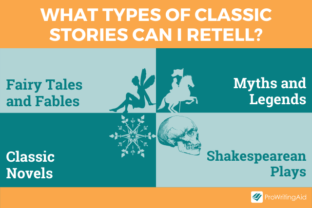Four categories of classic stories