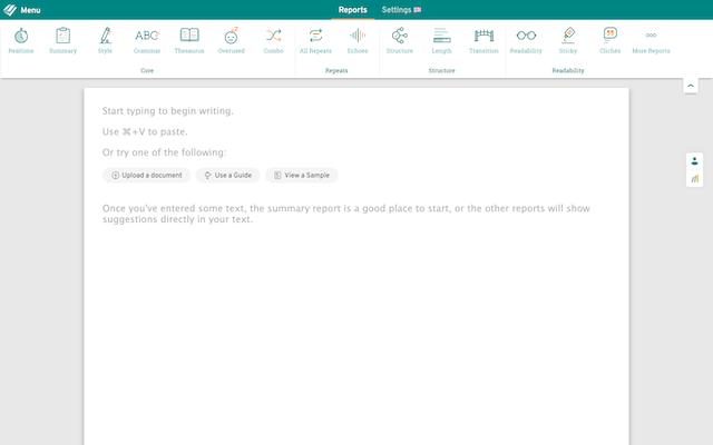 screenshot of webeditor