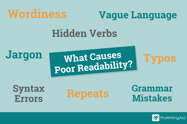 causes of poor readability