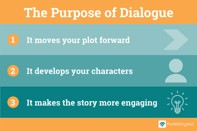 The three purposes of dialogue
