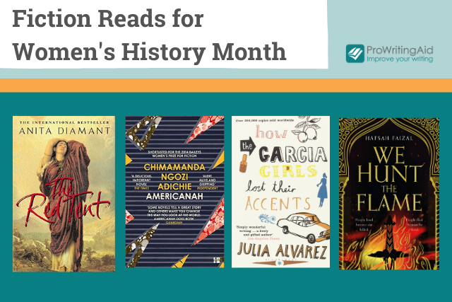 four fiction reads for women's history month