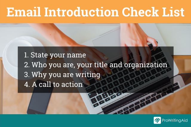 Email introduction checklist