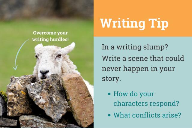 writing slump tip