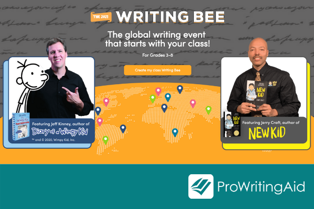 Boomwriter's 2021 Writing Bee: Unleash Your Students' Creativity