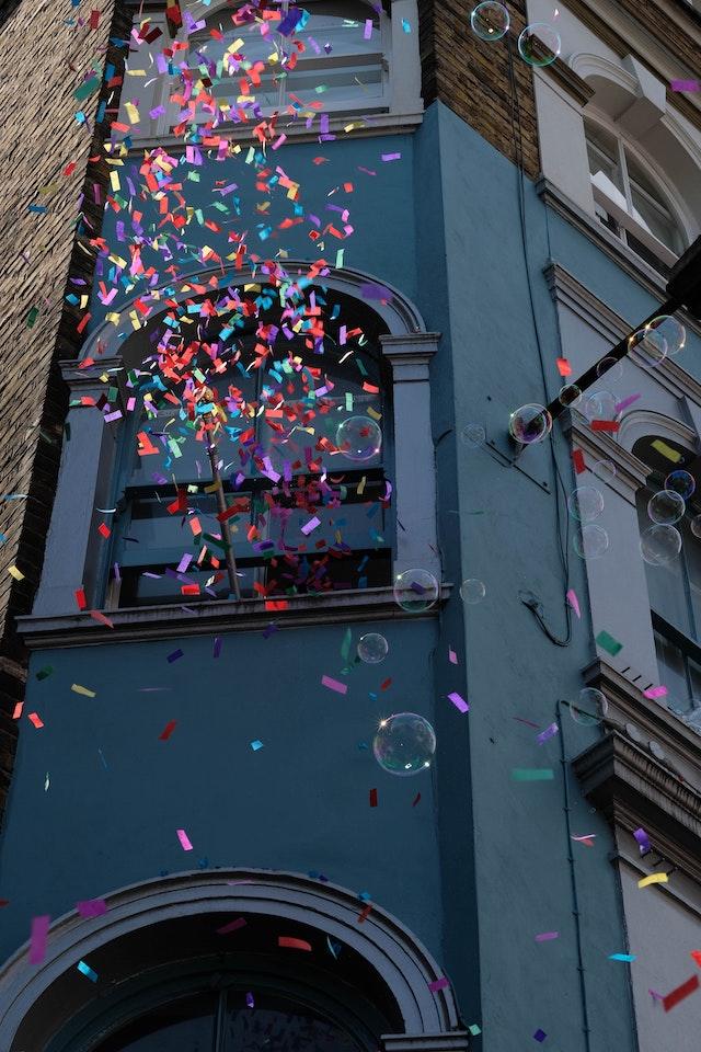 Confetti and Celebration
